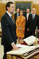 20111222 Giuramento Premier Rajoy