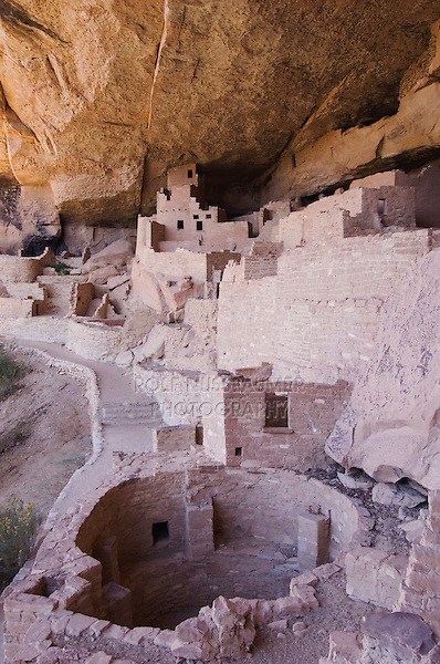 Cliff Palace dwelling, Mesa Verde National Park, Colorado, USA, September 2007