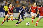 Asuka Nishikawa (JPN), .AUGUST 26, 2012 - Football / Soccer : .FIFA U-20 Women's World Cup Japan 2012, Group A .match between Japan 4-0 Switzerland .at National Stadium, Tokyo, Japan. .(Photo by Daiju Kitamura/AFLO SPORT)