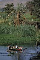 Afrique/Egypte/Env d'Assouan: Embarcation - Navigation sur le Nil