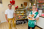 Staff at the Kerry Mental Health Association Ross Cafe in Killarney on Tuesday, l to r: John Drummey (General Manager of Kerry Mental Health Association) and Mags Keogh.
