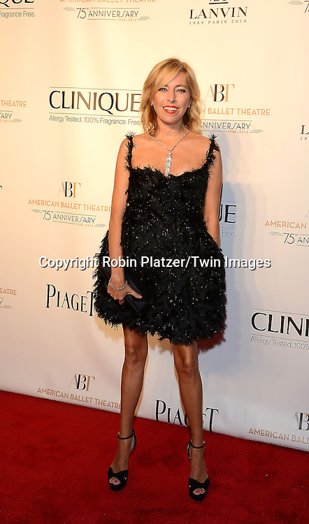 Sutton Stracke attends the Opening Night of American Ballet Theatre 2014 Fall Gala on October 22,2014 at the David Koch Theater at Lincoln Center in New York City. <br /> <br /> photo by Robin Platzer/Twin Images<br />  <br /> phone number 212-935-0770