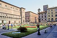 Italy: Bologna--Piazza Del Nettuno. Smaller square north of Piazza Maggiore.