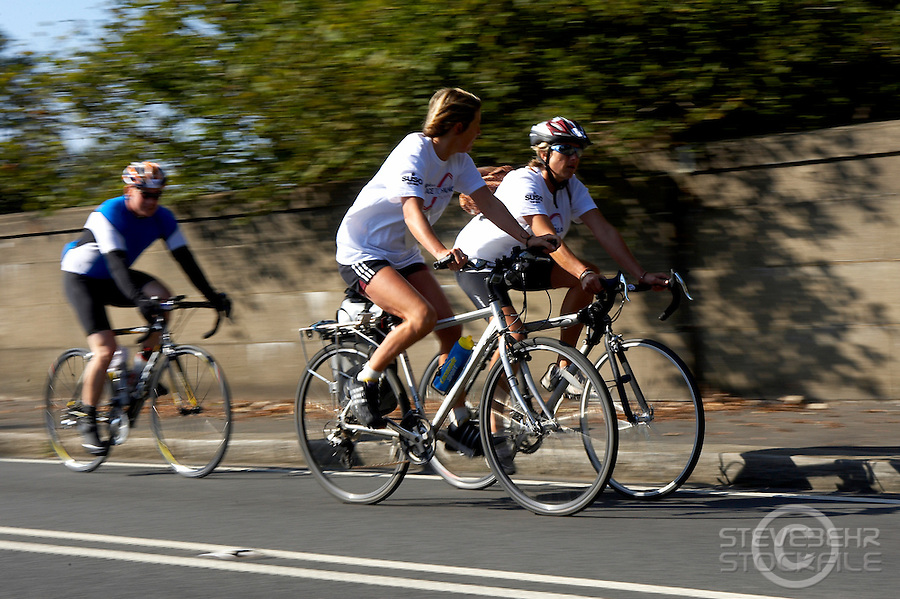 Palace to Palace Charity Ride..Buckingham Palace to Windsor Castle event..Virginia Water , Surrey  September 2009..pic copyright Steve Behr /  Stockfile