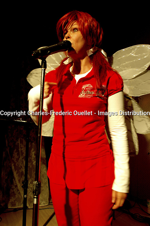 Claudine Mercier, humoriste<br /> <br /> Photo : Charles-Frederic Ouellet - Images Distribution