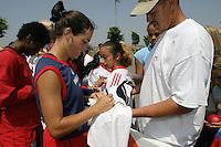 Julie Foudy, USWNT vs. Costa Rica, September 1, 2003.