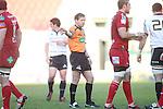 Referee Alain Rolland.RaboDirect Pro 12.Scarlets v Munster..Parc Y Scarlets.21.04.12.©Steve Pope