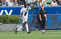 Carson, CA - Saturday May 11, 2019: New York City Football Club defeated the Los Angeles Galaxy 2-0 in a Major League Soccer (MLS) game at Dignity Health Sports Park.