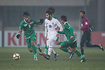 Iraq vs Jordan during the AFC U23 Championship China 2018 Group C match at Changshu Sports Center on 16 January 2018, in Changshu, China. Photo by Yu Chun Christopher Wong / Power Sport Images