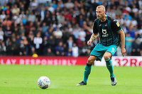 Mike van der Hoorn of Swansea City in action during the Sky Bet Championship match between Derby County and Swansea City at Pride Park Stadium in Derby, England, UK. Saturday 10 August 2019