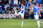 Robert Ibanez of Deportivo Leganes in action during their La Liga match between Deportivo Leganes and Real Madrid at the Estadio Municipal Butarque on 05 April 2017 in Madrid, Spain. Photo by Diego Gonzalez Souto / Power Sport Images