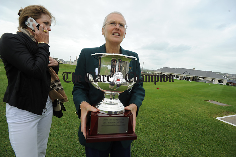 at the launch of the Women's International Team Challenge in Lahinch Golf Club. Photograph by John Kelly.