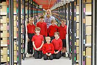 2019 10 24 Trellech Primary School visit the CWL1 fulfillment centre, Swansea, Wales, UK