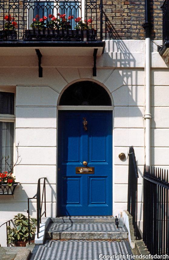 London: Wilton Place--Doorway.