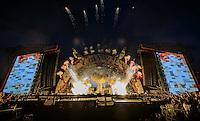 14.05.2015, Red Bull Ring, Spielberg, AUT, AC DC, Rock or Bust Tour, Spielberg, Konzert, im Bild die Bühne. Die australische Band AC/DC gastiert im Zuge ihrer Rock or Bust World Tour am 14. Mai in Spielberg // AC/DC perform on stage during their Rock or Bust Tour at the Red Bull Ring, Spielberg, Austria on 2015/05/14. EXPA Pictures © 2015, PhotoCredit: EXPA/ Sandro Zangrando