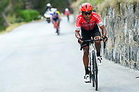 14th March 2020, Paris to Nice cycling tour, final day, stage 7;  QUINTANA Nairo (COL) of TEAM ARKEA - SAMSIC in action during stage 7 of the 78th edition of the Paris - Nice cycling race, a stage of 166,5km with start in Nice and finish in Valdeblore La Colmiane on March 14, 2020 in Valdeblore La Colmiane, France