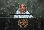 Statement <br /> by Her Excellency Sheikh Hasina, Prime Minister of the People's Republic of Bangladesh
