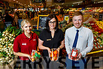 Garveys Supervalu Tralee. <br /> L to r: Joy Murphy, Sandra Lynch (Store Manager) and Craig Shanahan (Asst Manager).
