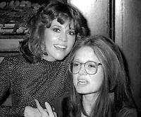 Jane Fonda Gloria Steinem Undated<br /> Photo By Adam Scull/PHOTOlink.net