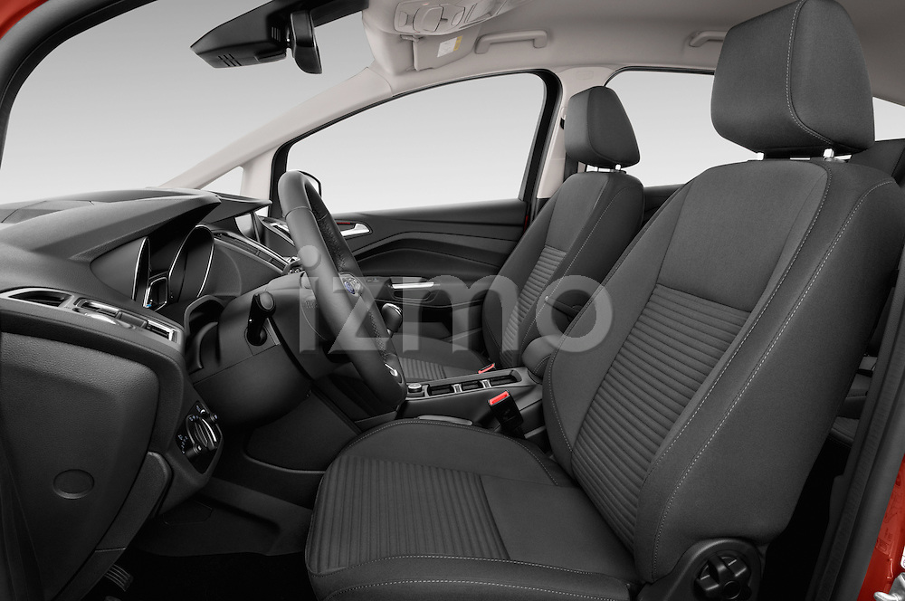Front seat view of 2015 Ford C Max Titanium 5 Door Mini Mpv Front Seat car photos