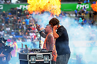 The Peacekeepers perform on day two of the 2018 HSBC World Sevens Series Hamilton at FMG Stadium in Hamilton, New Zealand on Saturday, 3 February 2018. Photo: Dave Lintott / lintottphoto.co.nz