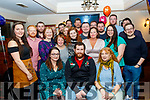 Ben Glavin, Tralee, seated centre, celebrated his 30th birthday last Saturday night in the Kerins O'Rahillys GAA club, Tralee along with many friends and guests.