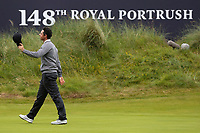 190719 | The 148th Open - Day 2<br /> <br /> Rory McIlroy of Northern Ireland at the end of 2nd Round in the 148th Open Championship at Royal Portrush Golf Club, County Antrim, Northern Ireland. Photo by John Dickson - DICKSONDIGITAL