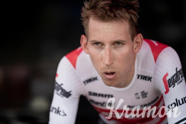 Bauke Mollema (NED/Trek-Segafredo) warming up for the TTT<br /> <br /> Stage 2 (TTT): Brussels to Brussels(BEL/28km) <br /> 106th Tour de France 2019 (2.UWT)<br /> <br /> ©kramon