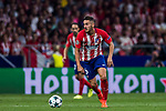 Jorge Resurreccion Merodio, Koke, of Atletico de Madrid in action during the UEFA Champions League 2017-18 match between Atletico de Madrid and Chelsea FC at the Wanda Metropolitano on 27 September 2017, in Madrid, Spain. Photo by Diego Gonzalez / Power Sport Images