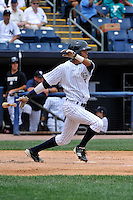 Staten Island Yankees outfielder Mason Williams #59 during a game against the Tri-City  Valley Cats at Richmond County Bank Ballpark at St. George on July 25, 2011 in Staten Island, NY.  Staten Island defeated Tri-City 2-1.  Tomasso DeRosa/Four Seam Images