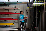 BAGHDAD, IRAQ: Haider Nawzad in the boathouse in Baghdad...Iraq is fielding a rowing team for the London 2012 Olympics...Photo by Kamaran Najm/Metrography