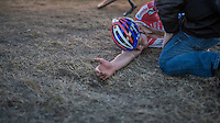 Mathieu Van der Poel (NED/Beobank-Corendon) needed to dig extremely deep & crashes to the floor exhausted after winning the Superprestige Zonhoven 2016