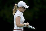 SINGAPORE - MARCH 05:  Morgan Pressel of the USA walks off the green on the par five 5th hole during the first round of HSBC Women's Champions at the Tanah Merah Country Club on March 5, 2009 in Singapore. Photo by Victor Fraile / The Power of Sport Images