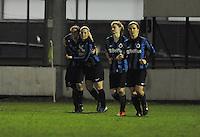 Club Brugge Vrouwen - PSV Eindhoven :<br /> <br /> 1-0 voor Club Brugge via Jana Coryn <br /> <br /> foto Dirk Vuylsteke / Nikonpro.be