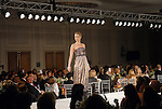 A model walks the runway wearing Etro at the Houston Chronicle Best Dressed luncheon and fashion show at the Westin Galleria Hotel  Monday March 10,2008.(Dave Rossman/For the Chronicle)