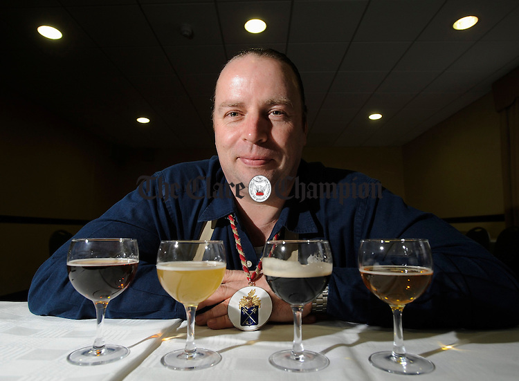 Marc Stroobandt, Master Sommelier, director of the F & B Partnership. Photograph by John Kelly.