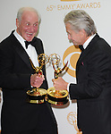 Michael Douglas and  Jerry Weintraub attends 65th Annual Primetime Emmy Awards - Arrivals held at The Nokia Theatre L.A. Live in Los Angeles, California on September 22,2012                                                                               © 2013 DVS / Hollywood Press Agency