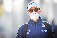 RUSSELL George (gbr), Williams Racing F1 FW43B, portrait during the Formula 1 Pirelli Gran Premio Del Made In Italy E Dell emilia Romagna 2021 from April 16 to 18, 2021 on the Autodromo Internazionale Enzo e Dino Ferrari, in Imola, Italy - <br /> Formula 1 Gran Premio Del Made In Italy E Dell Emilia Romagna 2021  16/04/2021<br /> Photo DPPI/Panoramic/Insidefoto <br /> ITALY ONLY