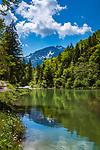 Deutschland, Bayern, bei Bergen (Chiemgau): die Weisse Ache in den Chiemgauer Alpen | Germany, Upper Bavaria, near Bergen (Chiemgau): stream 'White Ache' at Chiemgau Alps