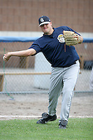 Mahoning Valley Scrappers Hart Hering during a NY-Penn League game at Dwyer Stadium on July 28, 2006 in Batavia, New York.  (Mike Janes/Four Seam Images)