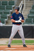Greenville first baseman Lars Anderson (26) at bat versus Kannapolis at Fieldcrest Canon Stadium in Kannapolis, NC, Monday, June 11, 2007.  The Drive no-hit the Intimidators in a game shortened to 6 innings by rain.