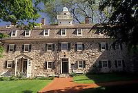 AJ3435, Bethlehem, moravian, Pennsylvania, The Bell House at the Moravian Museum in Bethlehem in the state of Pennsylvania.