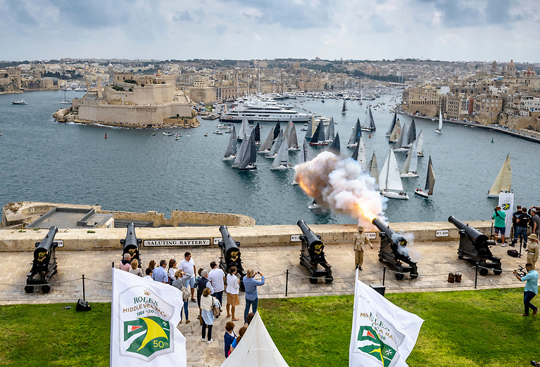 Saturday sees the start of the 2021 Rolex Middle Sea Race with a 120 boat entry