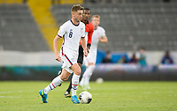 GUADALAJARA, MEXICO - MARCH 24: Djordje Mihailovic #8 of the United States dribbles with the ball during a game between Mexico and USMNT U-23 at Estadio Jalisco on March 24, 2021 in Guadalajara, Mexico.