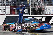 2017 NASCAR XFINITY Series - Rinnai 250<br /> Atlanta Motor Speedway, Hampton, GA USA<br /> Saturday 4 March 2017<br /> Kyle Busch, NOS Energy Drink Toyota Camry celebrates his win with a burnout<br /> World Copyright: Nigel Kinrade/LAT Images<br /> ref: Digital Image 17ATL1nk05621