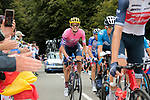 Tejay Van Garderen (USA) EF Pro Cycling climbs Col de Marie Blanque during Stage 9 of Tour de France 2020, running 153km from Pau to Laruns, France. 6th September 2020. <br /> Picture: Colin Flockton   Cyclefile<br /> All photos usage must carry mandatory copyright credit (© Cyclefile   Colin Flockton)