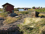 Harbor on the Island of Kökar, Åland, Finland