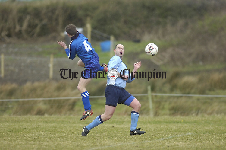 Cup Soccer St pats v Turnpike at Kilmihil