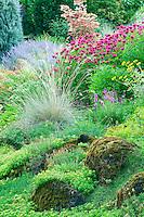 Rock garden at Oregon Gardens. Oregon
