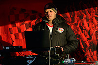 Harrison, NJ - Tuesday April 10, 2018: New York Red Bulls DJ prior to leg two of a  CONCACAF Champions League semi-final match between the New York Red Bulls and C. D. Guadalajara at Red Bull Arena. C. D. Guadalajara defeated the New York Red Bulls 0-0 (1-0 on aggregate).